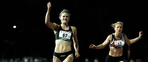 Melissa Breen wins 100m