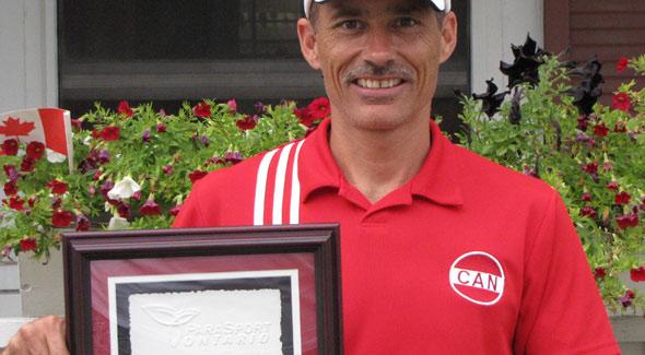 Rick Ball ParaSport Ontario Male Athlete of the Year