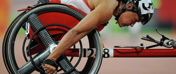 Chantal Petitclerc for UK Athletics