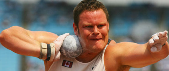 Dylan Armstrong takes 2011 Award