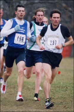Steve Boyd leads Graham Hood