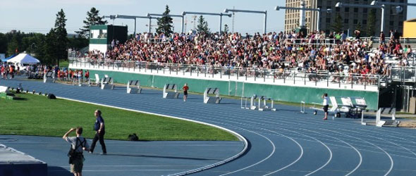 organizing a track and field meet of champions