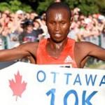 Mutai wins Ottawa 10k 2012