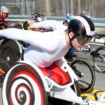 Roy, and Stilwell lead wheelchair racers