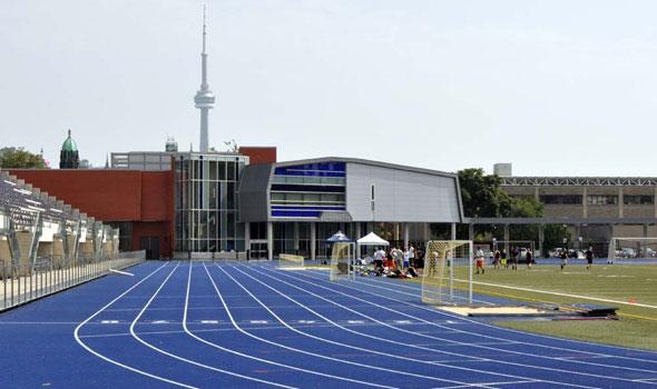 Varsity Stadium in Toronto