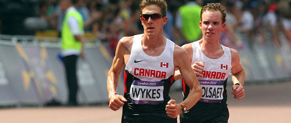 Dylan Wykes and Reid Coolsaet - London 2012
