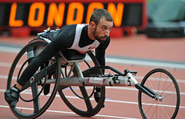 Brent Lakatos - London Paralympics 2012