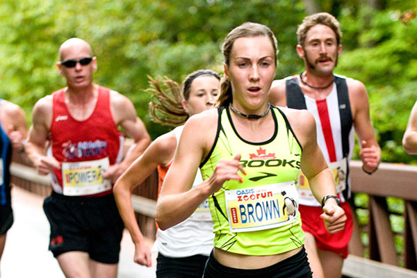Meg Brown for Canada 10k 2012