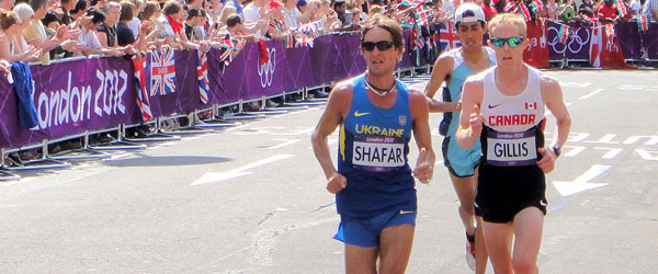 Eric Gillis - London Olympics