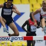 Drouin and Hughes set records