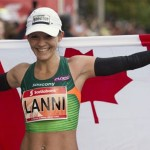 Marchant breaks Canadian record