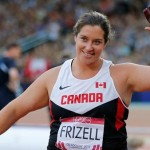 Sultana Frizell wins CWG Gold