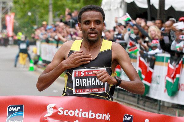 Birhanu - Ottawa Marathon
