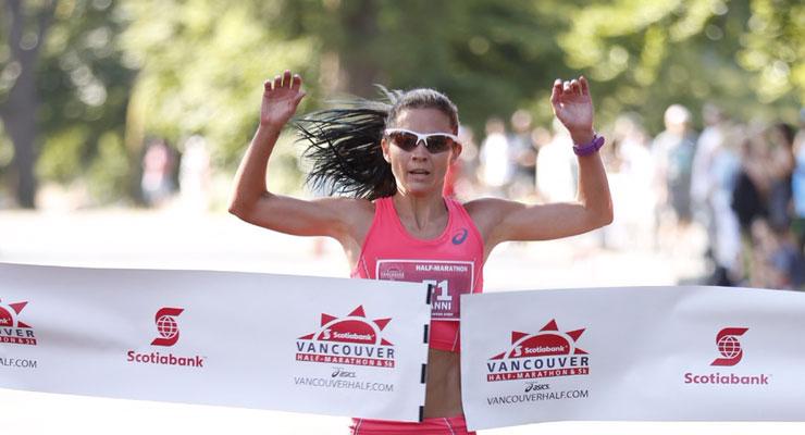 lanny marchant - vancouver half-marathon