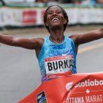 Gelete Burka sets Ottawa Marathon records