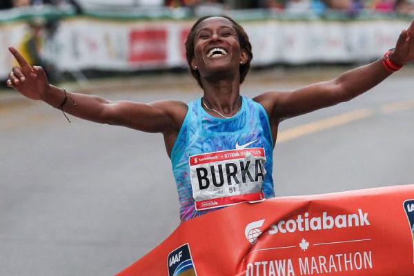 Gelete Burka - Ottawa Marathon
