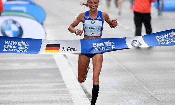anna hahner - Berlin Marathon