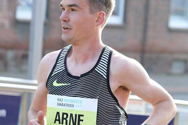 Gabius Arne - Hannover marathon