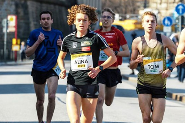Alina Reh sets course record