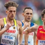 Reuther sets 800m indoor PB