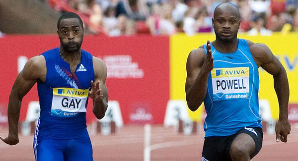 Tyson Gay - Asafa Powell