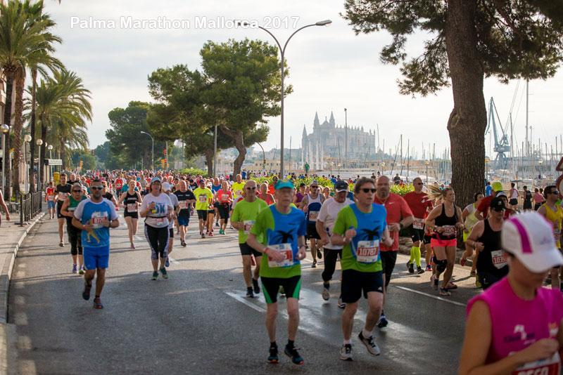 Casado y Castanyer ganadores de Palma Marathon Mallorca 2017
