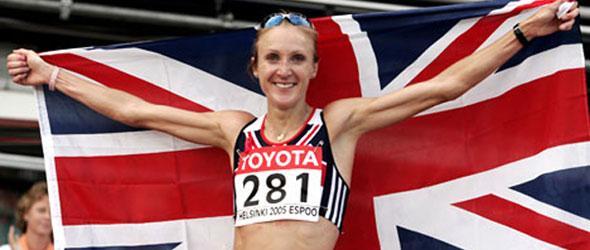 Paula Radcliffe for Vienna Half