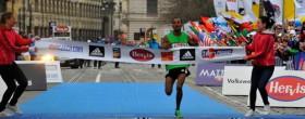 Atsedu Tsegay wins Prague Half Marathon 2012