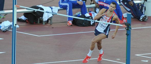Robbie Grabarz jumps to European title
