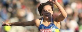 Olha Saladuha takes Triple Jump title