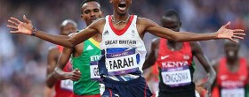 Mo Farah voted 2012 European Athlete of the Year
