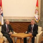 Wirz meets with Serbian President Nikolic