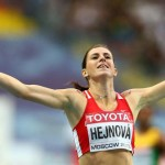 Bondarenko and Hejnova Athletes of July