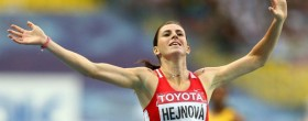 Bondarenko and Hejnova Athletes of July