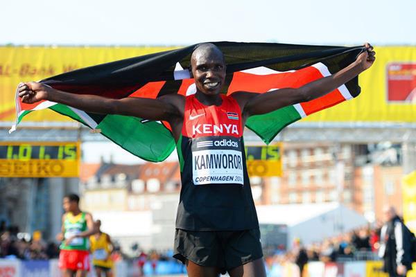Geoffrey Kamworor - Copenhagen World Half