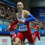 Maslak, Perkovic Athletes of March