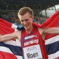 Sondre Moen sets Norwegian Record in Hannover