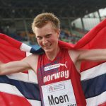 Sondre Moen sets Norwegian Record in Hannover