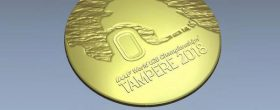 Medals for Tampere World U20 Championships 2018