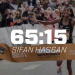 Hassan sets European half marathon record