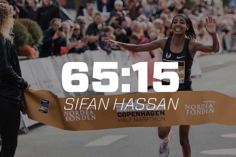 Sifan Hassan - Copenhagen Half 2018