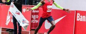 mo farah - chicago marathon