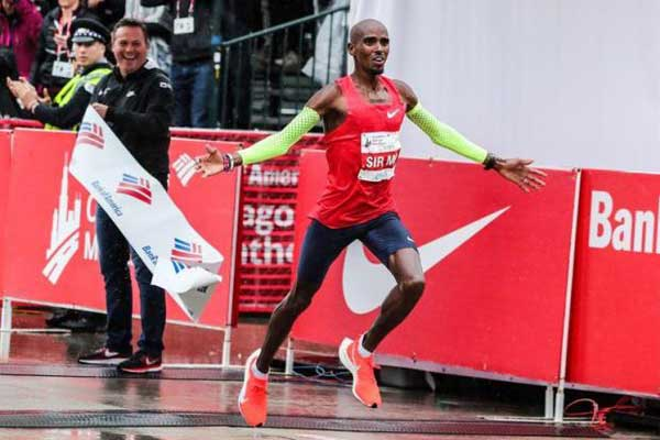 Farah sets new European record in Chicago