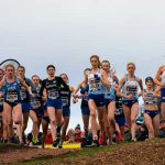 Team Europe celebrate victory at Great Stirling XCountry