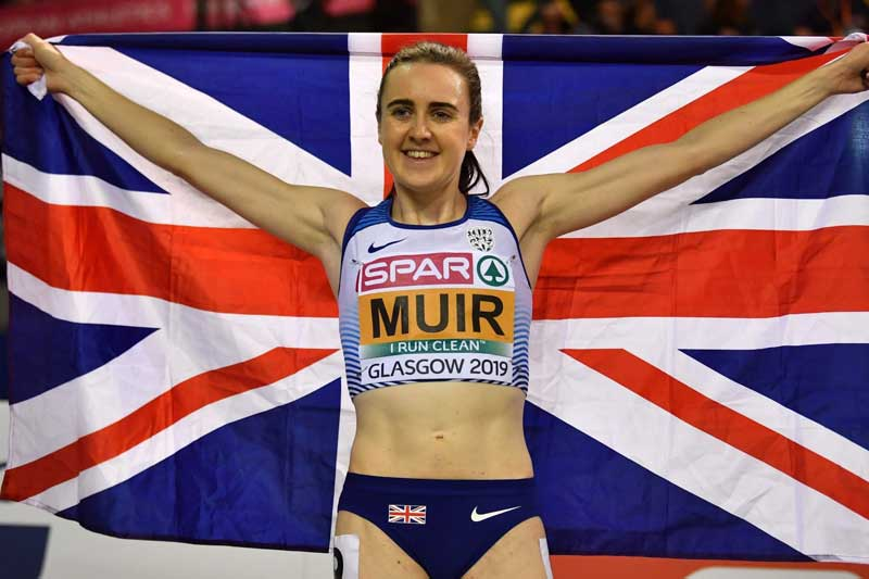 laura muir - glasgow