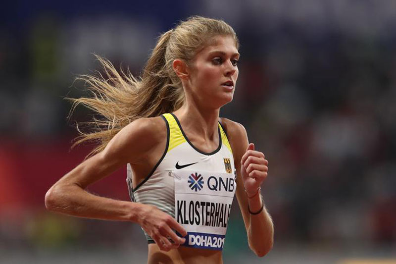 Klosterhalfen sets European indoor 5000m record