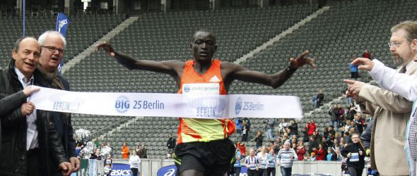 Dennis Kimetto World Record Berlin 25k