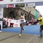 Cold wins for Tadese and Cherono