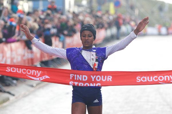Ganet Yalew - Egmond Half Marathon 2016