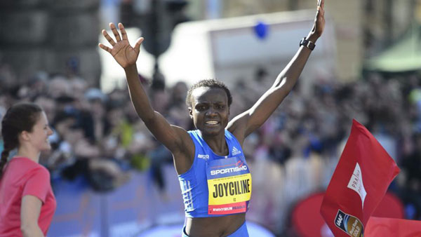 Jepkosgei world half marathon record in Valencia